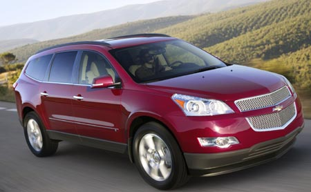 GearDiary 2009 Chevy Traverse - the $40k vibrator