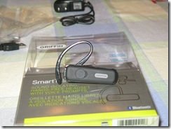 GearDiary Review: Griffin SmartTalk Bluetooth Headset