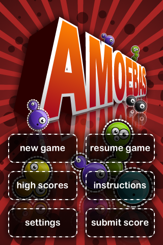 GearDiary Amoebas for the iPhone