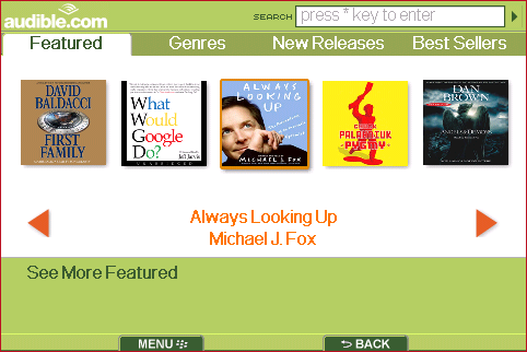 Audible for BlackBerry Review