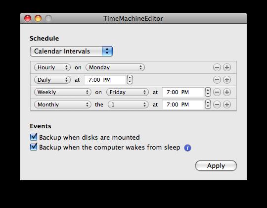 GearDiary Take Control of Time Machine