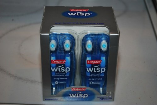 GearDiary Colgate Wisp - brush and freshen your teeth while on the go