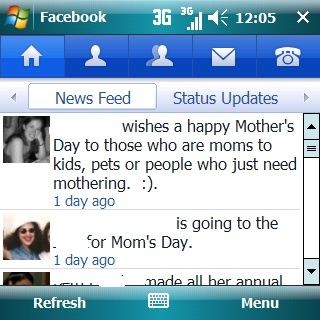 mobile-facebook-status-update