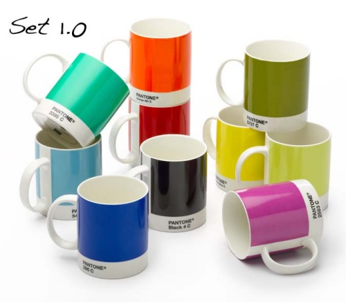 GearDiary Pantone coffee mugs are perfect for graphics geeks