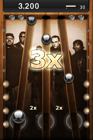 Review:  Tap Tap Revenge - Dave Matthews Band
