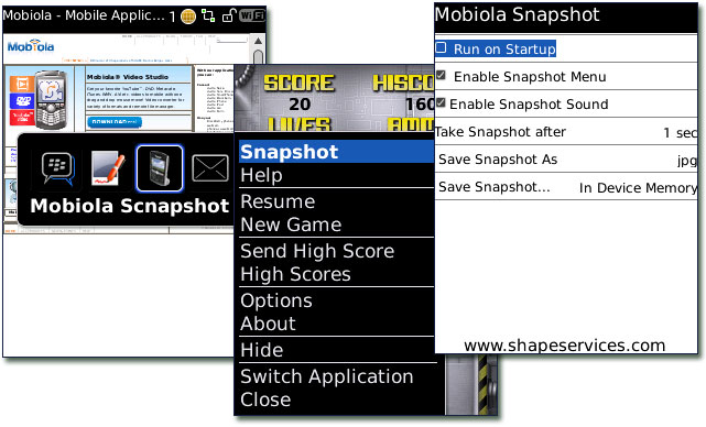 GearDiary Review:  Mobiola Snapshot for BlackBerry