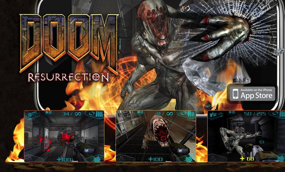 GearDiary DOOM Resurrection - an iPhone Gaming First Look