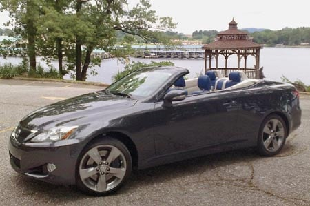 Geardiary First Drives New Lexus Is Convertible Hs250h Hybrid