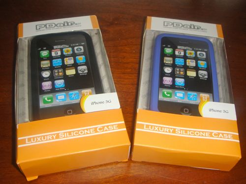 Review:  PDair Luxury Silicone Case for iPhone 3G