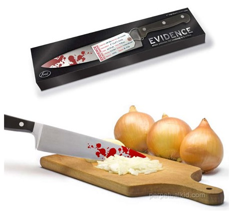GearDiary Evidence knife makes perfect grab bag gift for the office backstabber