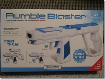 GearDiary Review: DreamGear Rumble Blaster