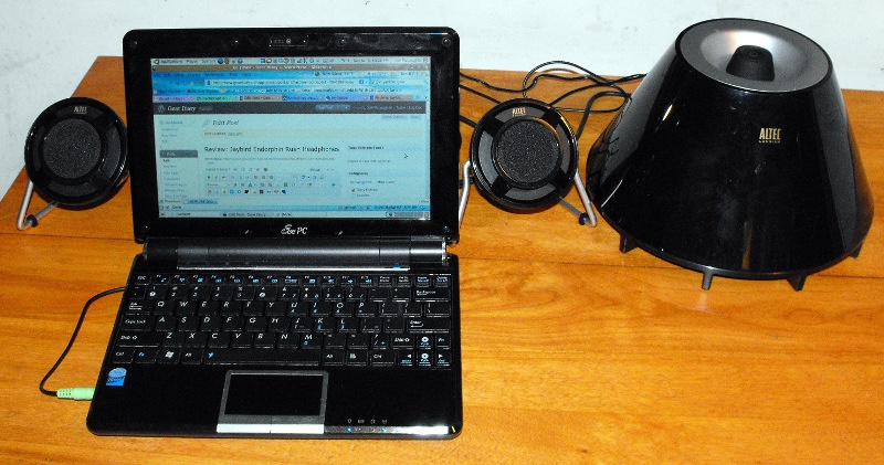 GearDiary Review: Altec Lansing  expressionist PLUS Speakers