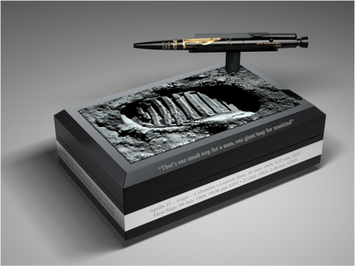 GearDiary $800 Fisher AG7 Space Pen commemorates 40th anniversary of moon landing