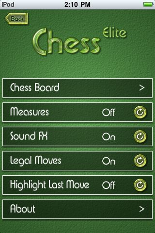 GearDiary Chess Elite for iPhone Review