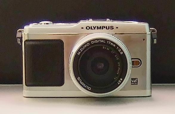 Olympus E-P1 Front