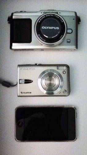 Olympus E-P1 Size Comparison