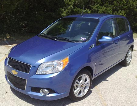 GearDiary 2009 Chevy Aveo5: no movie star but worth a look