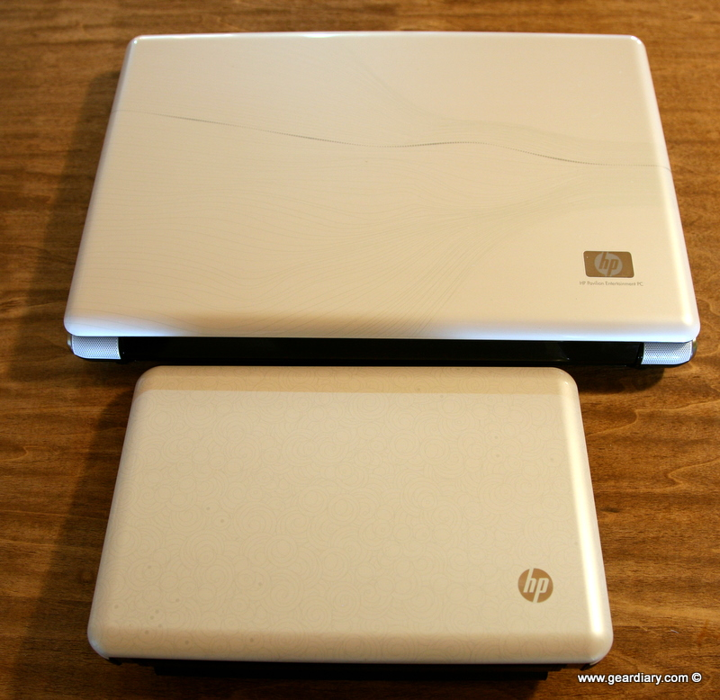 GearDiary Using the HP dV6 Laptop and Mini 110 Netbook in Tandem: Moving Back to Windows from Mac: