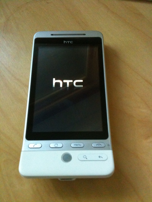 GearDiary Some Thoughts On the HTC Hero After a Few Days