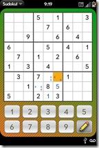 GearDiary Palm Pre App Catalog. 30 Apps in 30 Days. Day 10: Sudoku!