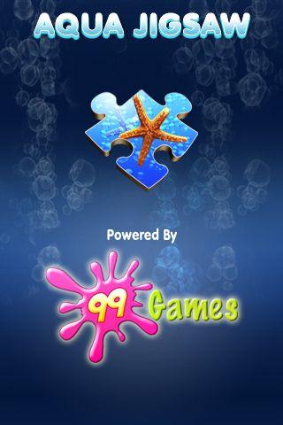 GearDiary Review:  Aqua Jigsaw for iPhone OS