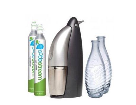 review soda stream penguin starter kit geardiary. Black Bedroom Furniture Sets. Home Design Ideas