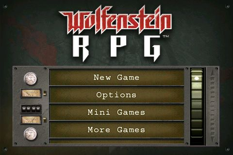 GearDiary Wolfenstein RPG for iPhone Review