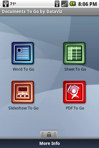 Review: Dataviz Documents to Go Version 2.0 for Android