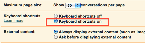GearDiary How to enable, discover, and use Gmail keyboard shortcuts