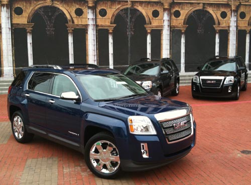 GearDiary 2010 GMC Terrain changing landscape of crossovers