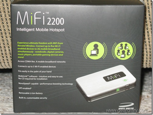 GearDiary Review: Novatel Mifi 2200 Intelligent Mobile Hotspot