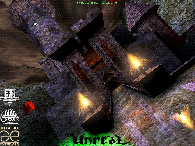 GearDiary The Netbook Gamer: Unreal (1998, FPS)