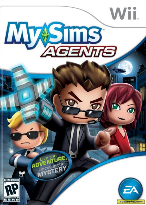 GearDiary Review: MySims Agents for Wii