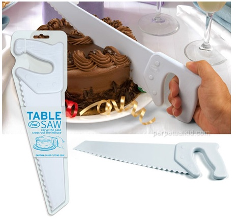 GearDiary Table Saw cake knife