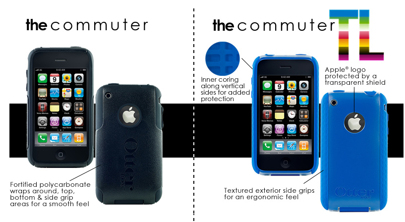 GearDiary Review:  Otterbox Commuter and Commuter TL Colors for iPhone 3G &3Gs