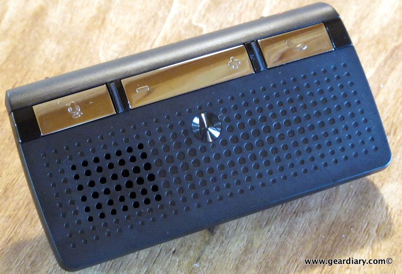GearDiary The Motorola T215 Bluetooth Car Kit Speakerphone Review