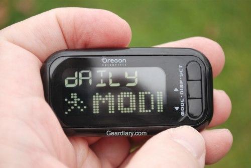 GearDiary Oregon Scientific Marathon Walker Measures Your Progress Step By Step