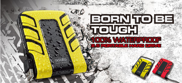GearDiary Review:  A-DATA sh93 Waterproof Hard Drive