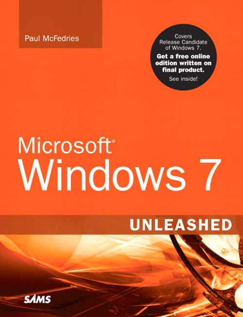GearDiary Book Review:  Microsoft Windows 7 Unleashed by Paul McFedries
