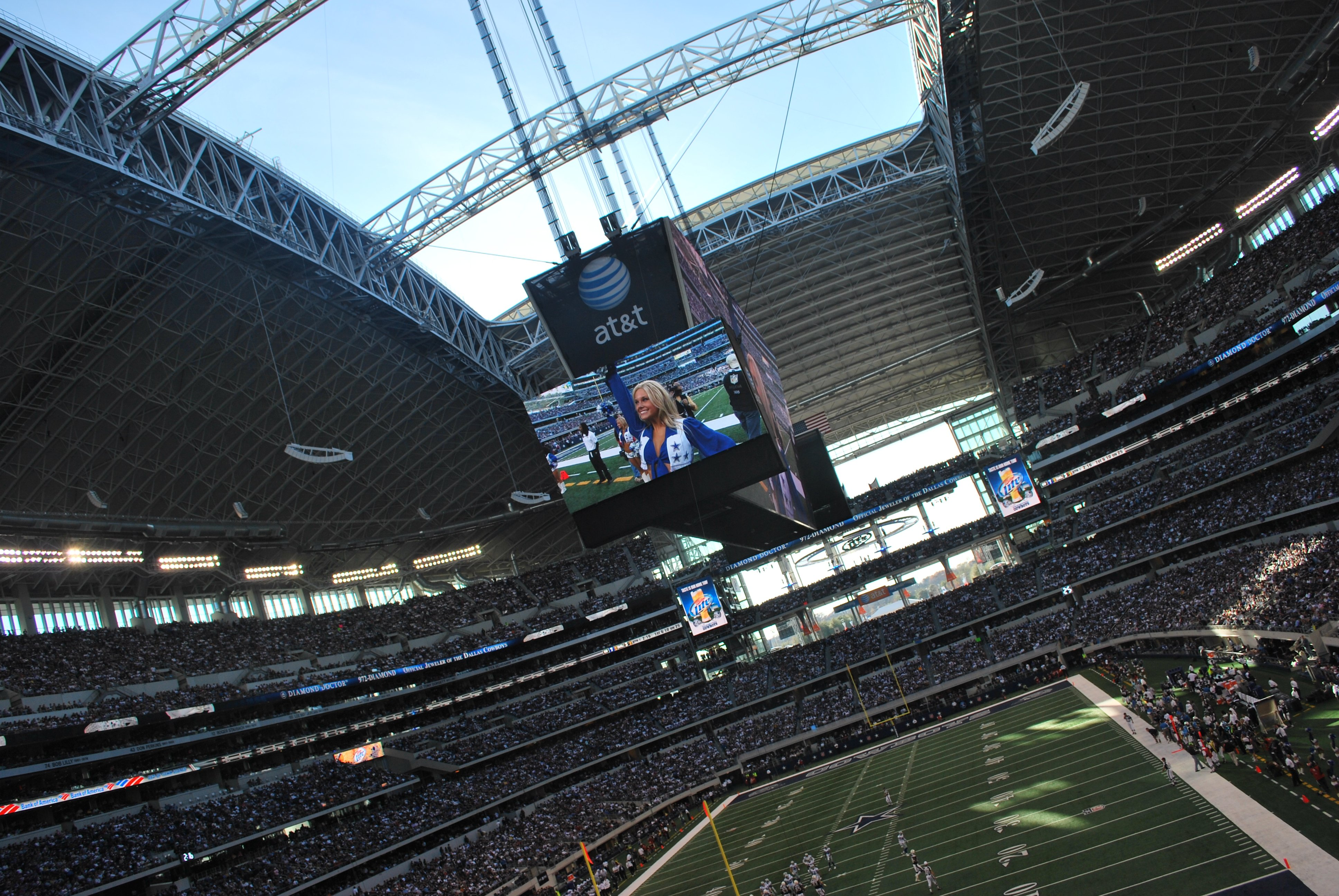 The Dallas Cowboys Stadium Video Board Gimme Some High Def