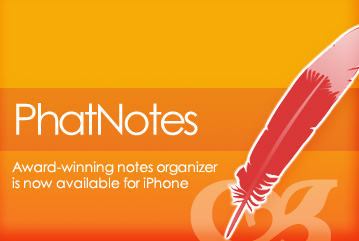 GearDiary PhatNotes for iPhone & iPod Touch Review