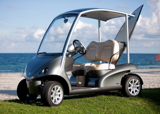 GearDiary Garia:  Golf Cart made by the hands that build Porsches