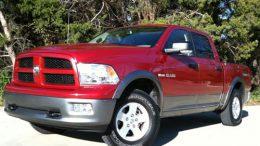 GearDiary New Dodge Ram 1500 charges head-on at competition