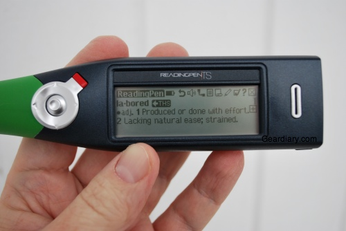 GearDiary The Wizcom Readingpen TS Reviewed; It Helps With The Hard Words
