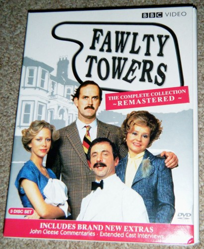 DVD Box Set Review: Complete Fawlty Towers Collection