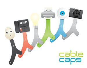 GearDiary Quirky Cable Caps