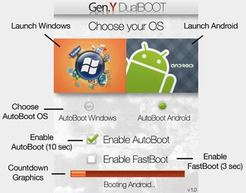 GearDiary Gen. Y Dualboot lets you pick your poison...Android or Windows Mobile