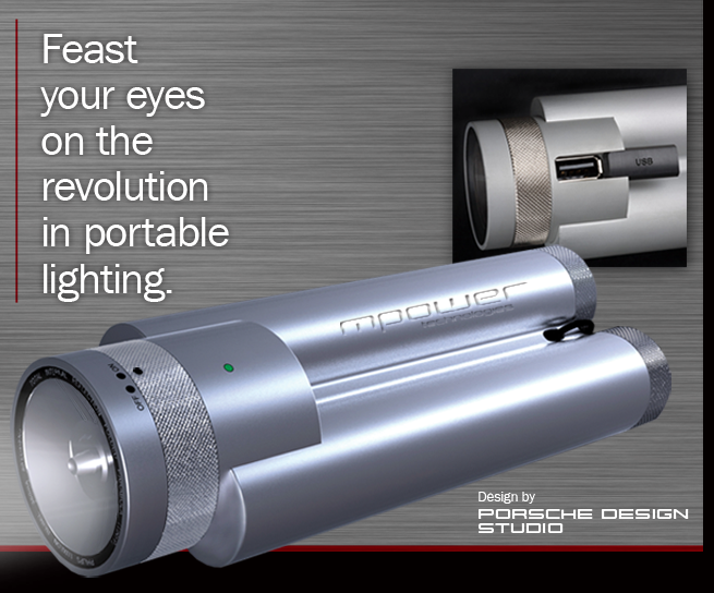GearDiary The Porsche Design mPower Illuminator will shine a light on your financial situation