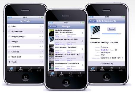 GearDiary Txtr Brings ePUB to the iPhone