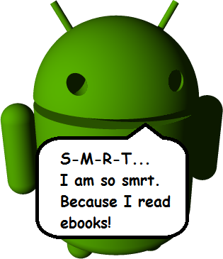 GearDiary eBook Reading Options for Android